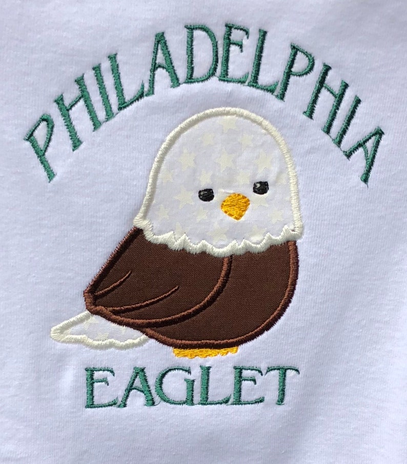 ec3f9c4e0 Philadelphia Eagles baby shower gift outfit or dress