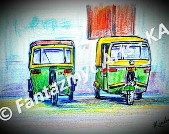 Auto Rickshaws of India - Joy ride