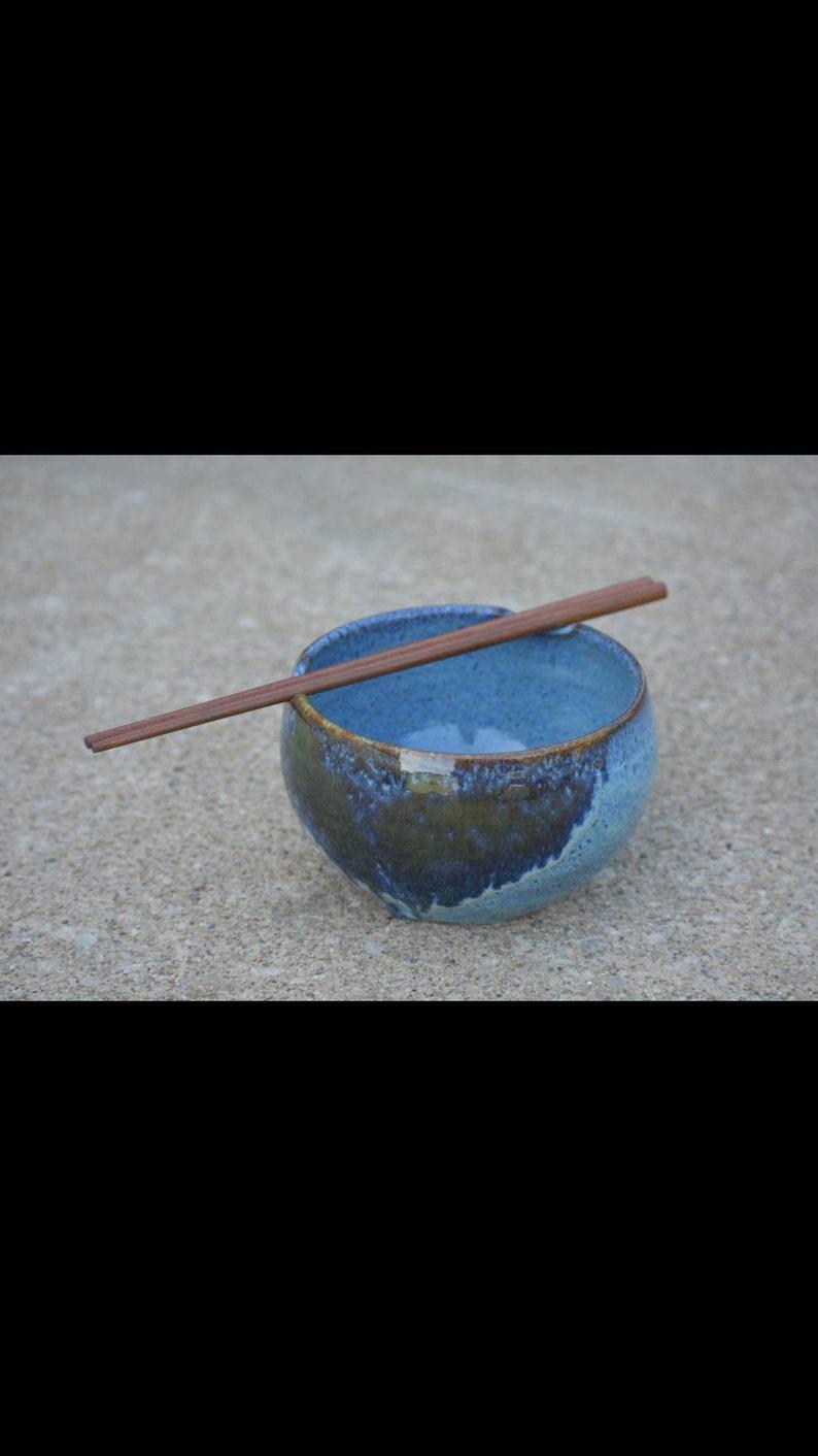 Rice Bowl Buddah Bowl with Chopsticks