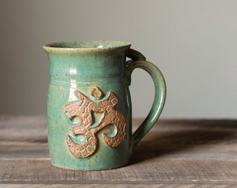 Coffee Tea Mug Yoga OM Yogi Peace Namaste