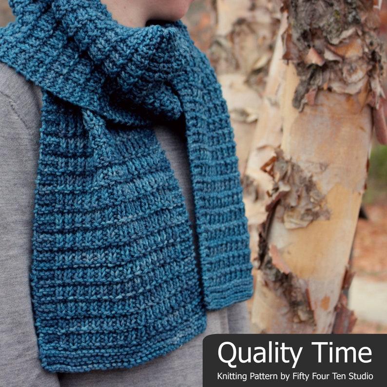 Scarf Knitting Pattern Quality Time Wrap Shawl Blanket Etsy