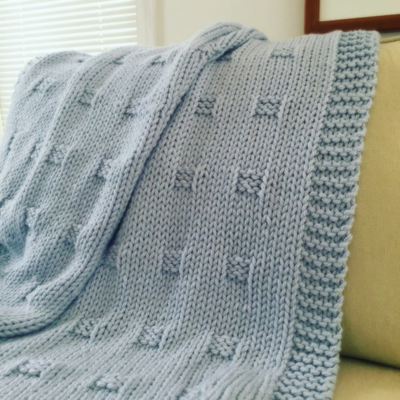 Afghan Knitting Pattern Graph Paper Blanket Throw Knit Etsy