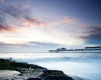 Southwold pier early one morning