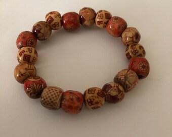 Brown Bracelet, Beaded Bracelet, Women Jewerly