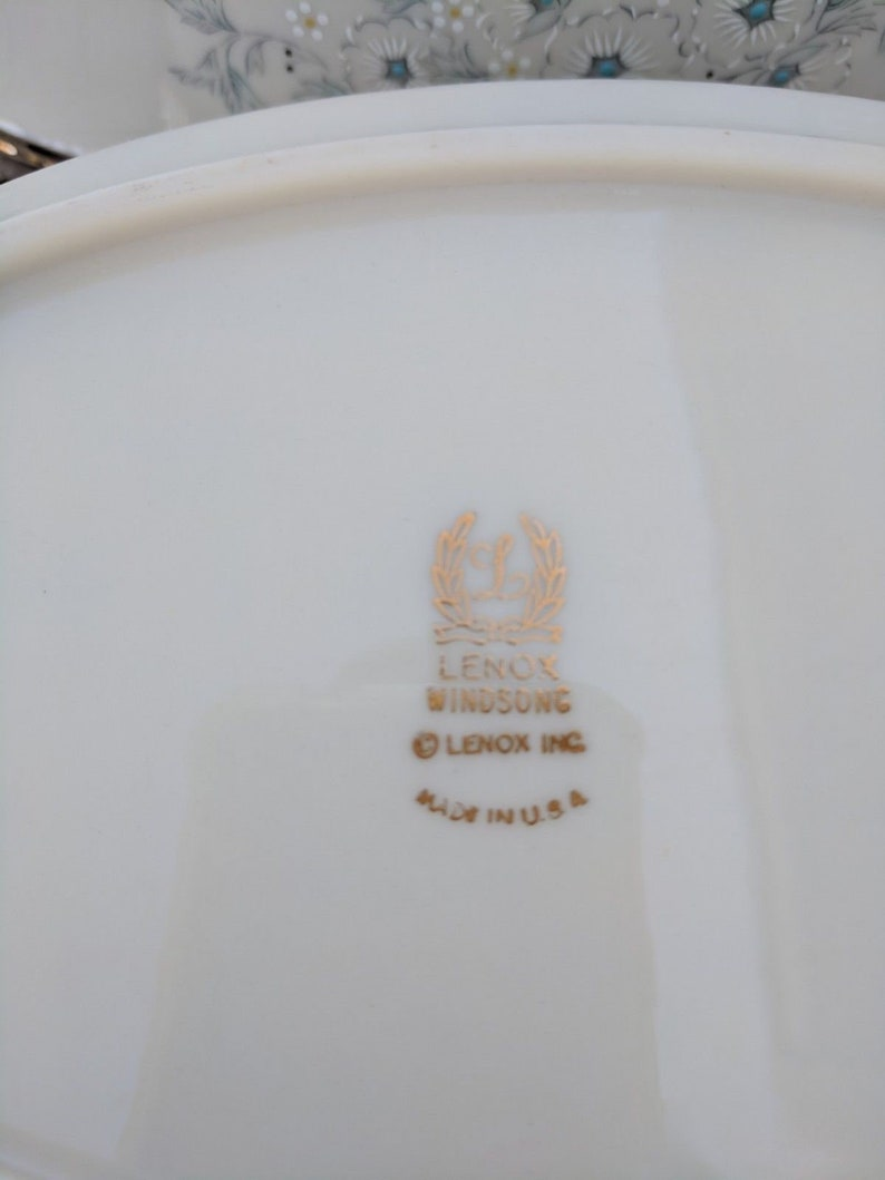 Lenox /'Windsong/' Pair of Cereal Bowls