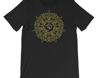 9cf5b9c5d Mandala Om Symbol Buddhism Buddha Yogi Yoga Men Women Tee T Shirt
