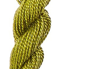 Size 5 Very Light Avocado Green DMC 115 5-471 Pearl Cotton Thread