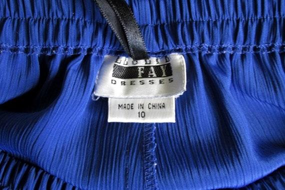 Vintage cobalt blue stretchy pull-on straight leg pants \u2013 various sizes L\u2013XXXL