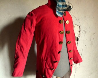 Boys Gray Cutaway Morning Frock Coat Theater Victorian Costume Damaged Cheap