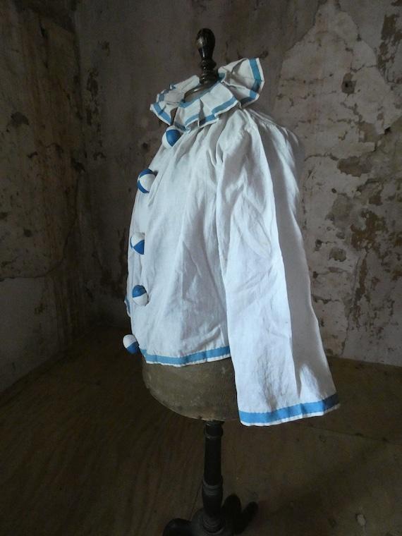 antique pierrot clown  jacket costume