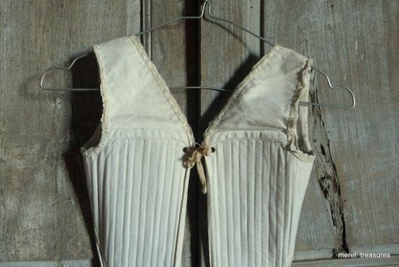 antique french child training corset