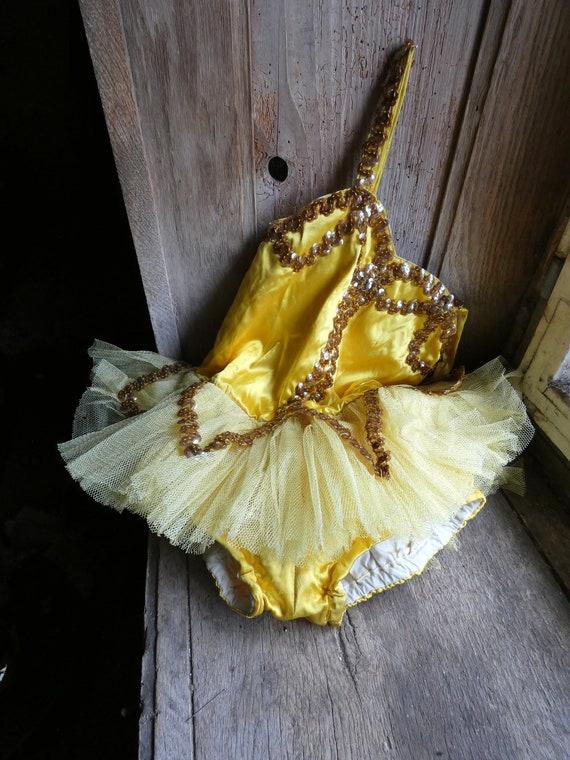 vintage ballet costume dress tutu