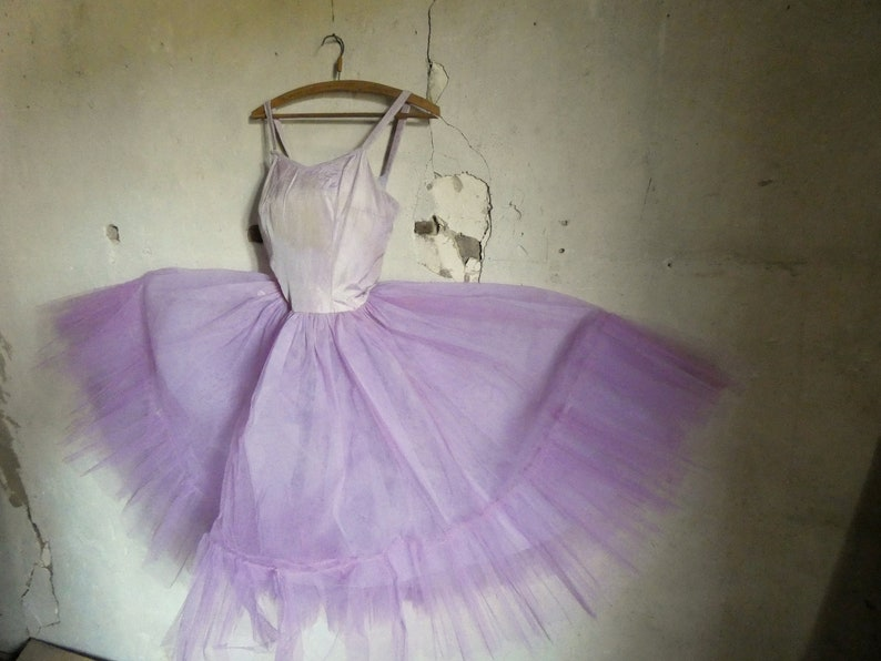 vintage antique french ballet dance tutu dress costume image 0