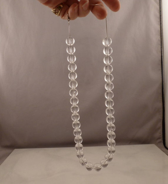 14k White Gold Pools of Light Necklace RARE. - image 3