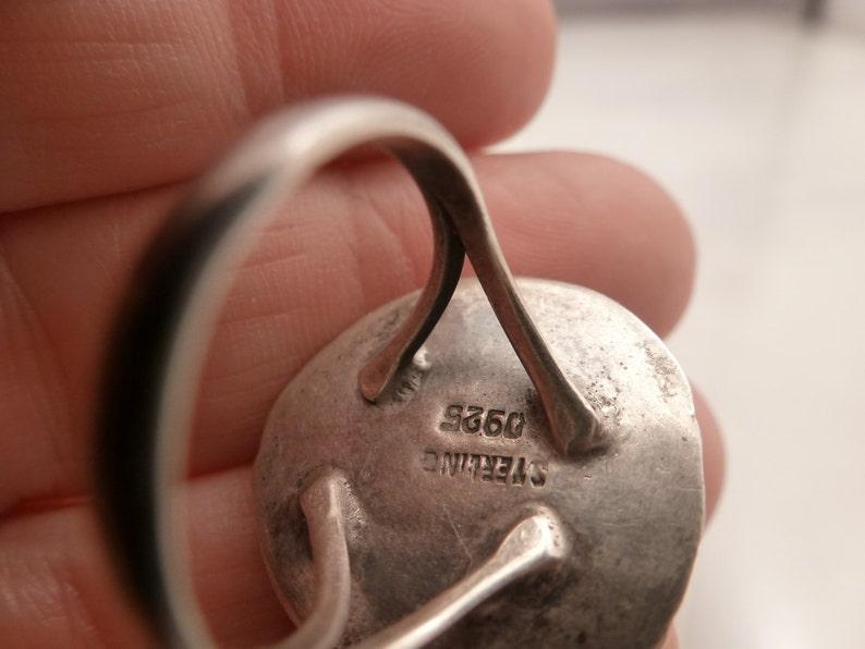 Vintage Navajo Sterling Turquoise Ring.