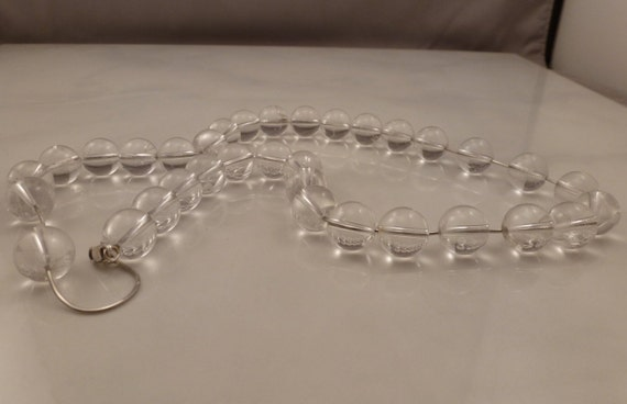 14k White Gold Pools of Light Necklace RARE. - image 2