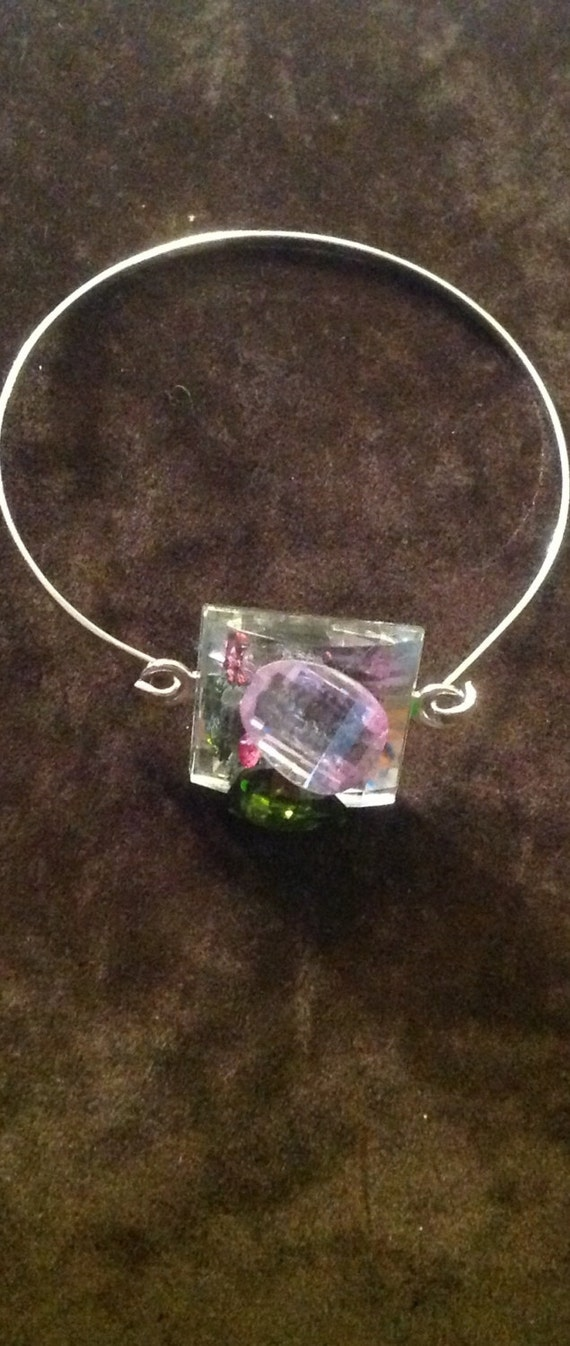 bangel  Braclet Cubic zircon bangle  and swaroviski  crystals