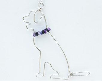 Labrador Necklace - Labrador Pendant - Labrador Dog Jewelry - Labrador Retriever - Dog Necklace - Pet Jewelry - Pet Loss Gift - Dog Art