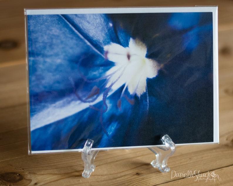 Blue Daze Detail 5x7 Note Card with Envelope  Single image 0