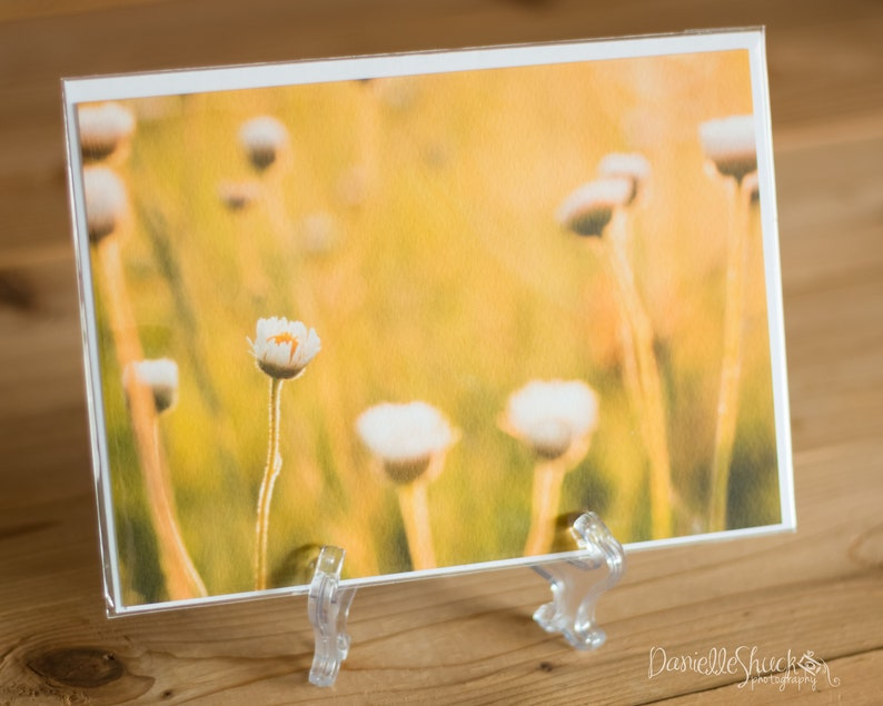 Golden Fields 5x7 Note Card with Envelope  Single image 0