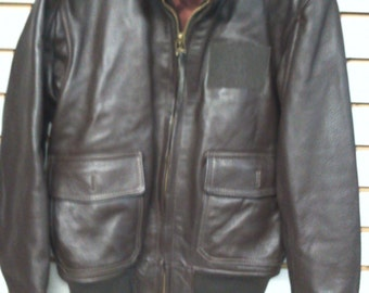 6cf22bcccde New US Navy Type G-1 Leather Jacket Availible in Sizes 34-56