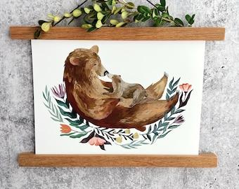 Bear-y Best Print