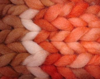 WOOL RUG Knit Rug Area Rug Chunky Wool Knitted Rugs, Hand Knit Bedroom Rug, Bedside Rug, Chunky Knit Rug, Country Rug, Cozy Knit/BEGONIA Rug