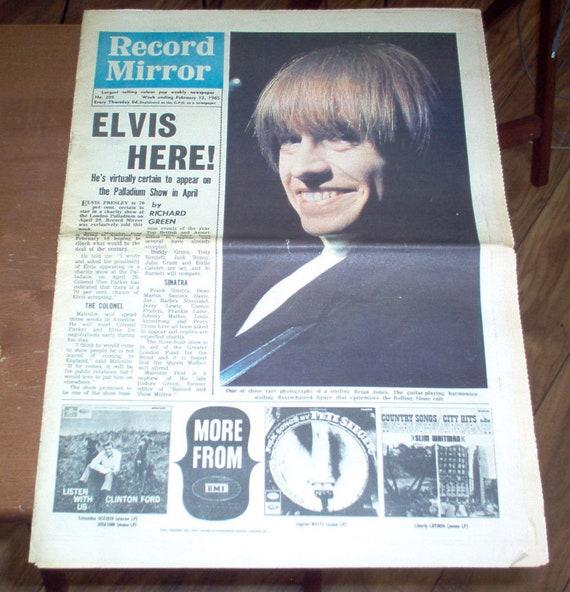 Rockamp; Brian Dc5 Clark Roll Goldie 60's Jones Magazine Mirror Record Vintage Music Uk Pretty Teen Kinks Dave Five Them 1965 Things The cTl13FKuJ