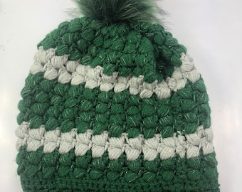 Slytherin house beanie With Pom Pom 1dda9944338