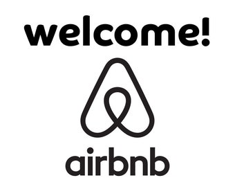 Airbnb Welcome Sign Etsy