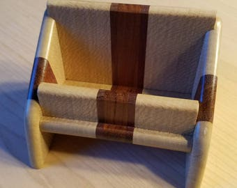 Wooden Business Card Holder - Free Shipping