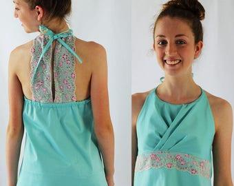 Tahlia top pattern, girls sewing pattern, girls top pattern, bridesmaid dress pattern, flower girl dress pattern, girls woven pdf pattern