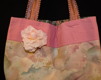 tote bag, romantic, eco friendly, spring bag