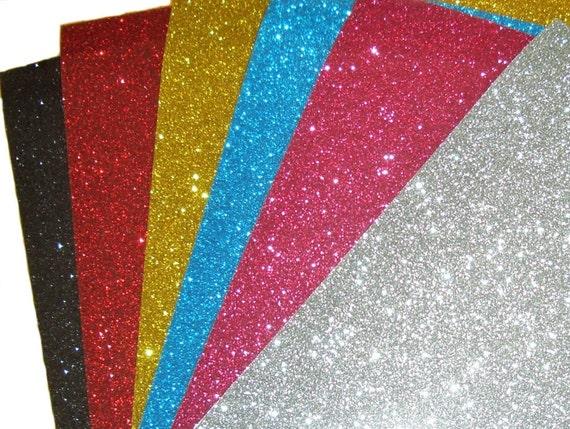 Iron on glittery flex sheet large size
