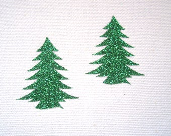 Iron on Fir tree appliqués