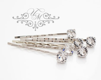 Rhinestone Hairpins