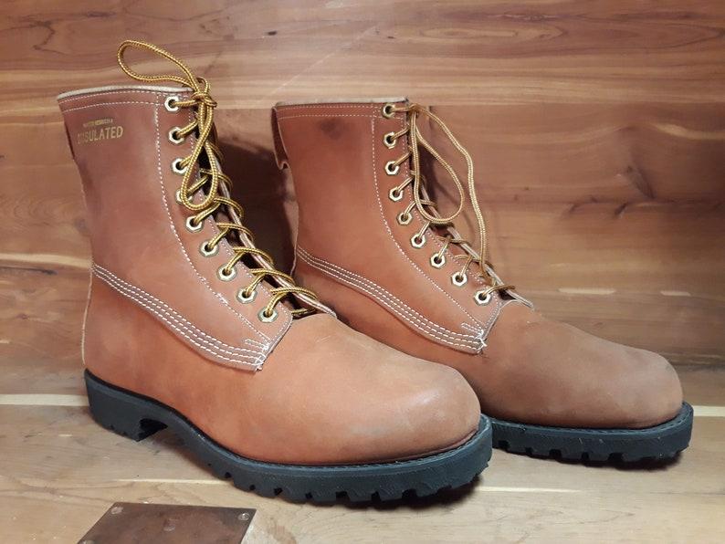 fd04e20b7890 Vintage Deadstock 80 s men s JCPenney round toe work