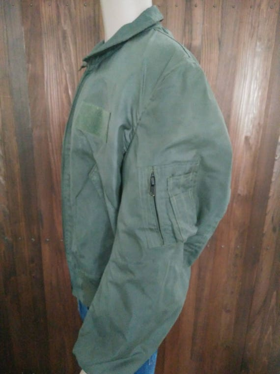 Mens Air Force summer flight jacket model 36P NOMEX MIL SPEC size 50 52 by Valley Apparel
