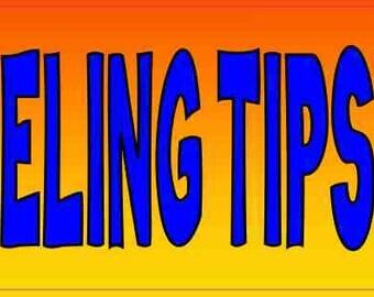 American Vinyl Feeling Tipsy Sticker Funny Tipping jar Drunk bar Bartender Cafe