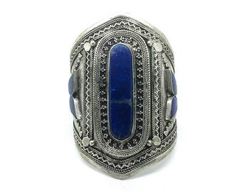 Bracelet wide cuff Bohemian style