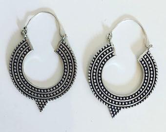 Afghan style earrings