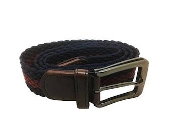 Braided elastic waistband