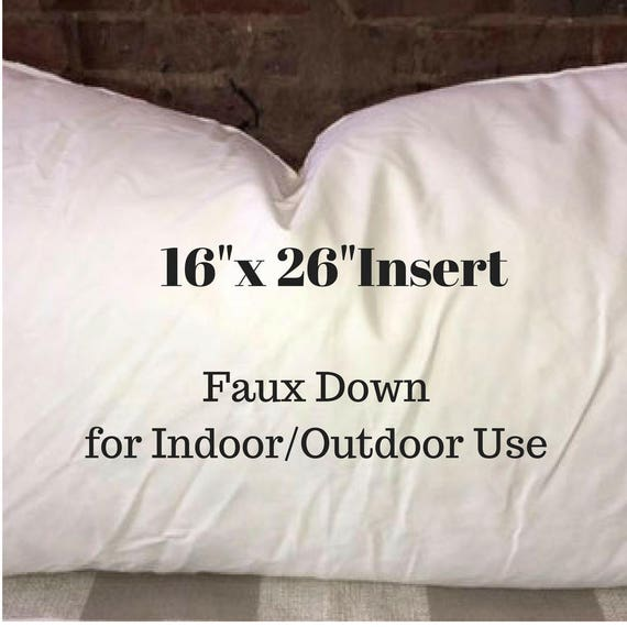16x26 Pillow Insert Impressive Pillow Form 60 X 60 Pillow Insert Indoor Or Etsy