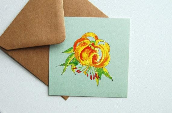 Romantic Greeting Card Romantic Birthday Card Print Etsy