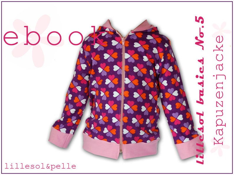 Ebook / Sewing Instructions Hooded Jacket image 0