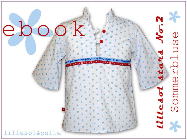 ebook/sewing Instructions Summer blouse image 0