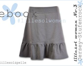 ebook/Sewing Instructions Women's jersey-level skirt