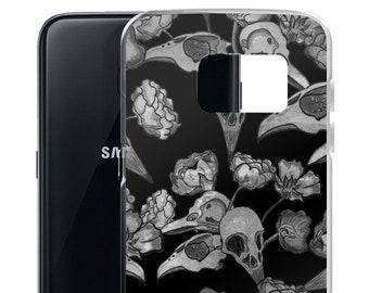 59d2a6266a Gothic Samsung Galaxy S7 S8 S9 plus Case