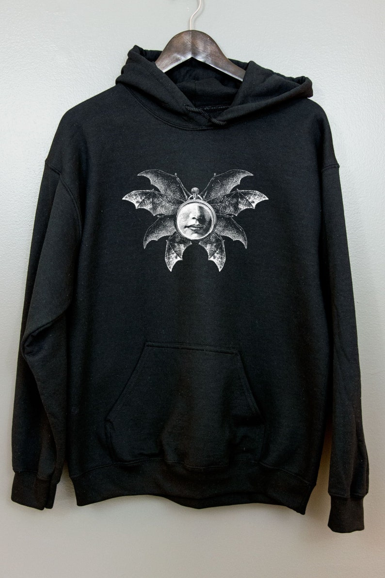 Occult Hoodie Hooded Sweatshirt  Gothic clothing Esoteric Nu image 0