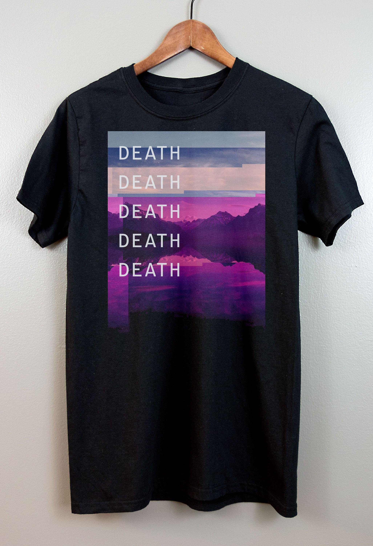 vaporwave shortsleeve t shirt cyberpunk aesthetic
